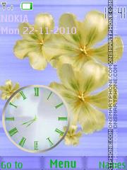 Tender Flower es el tema de pantalla