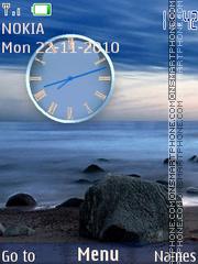 Ocean Clock es el tema de pantalla