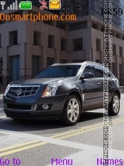 Cadillac SRX theme screenshot