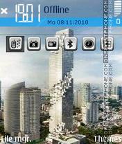Skyscraper 01 theme screenshot