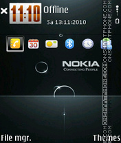 Nokia 7235 theme screenshot