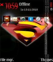 Superman 06 theme screenshot