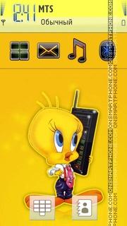 Tweety Bird 03 theme screenshot