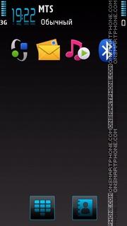Energy theme screenshot