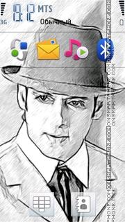 Sketchy Salman theme screenshot