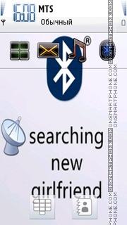 Funny Bluetooth theme screenshot