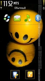 Cute Smile theme screenshot