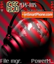 Neon Headphone vitaxa68 es el tema de pantalla