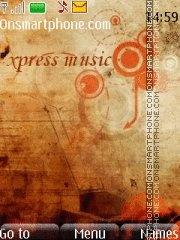 Nokia Xpress Music 10 es el tema de pantalla