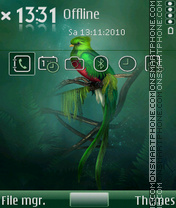 Quetzal theme screenshot