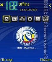 Fc rostov 01 theme screenshot