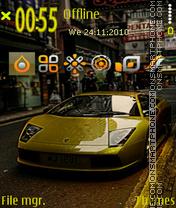 Скриншот темы Lambo 04