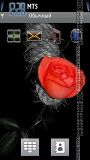 Red Rose 05 theme screenshot