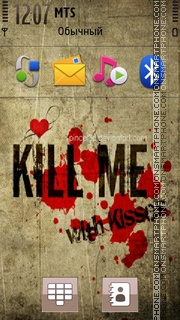 Kill Me 01 tema screenshot