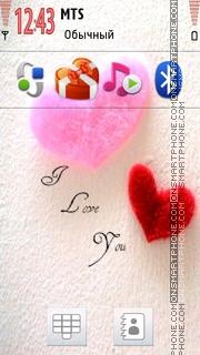 Valentine Icons theme screenshot