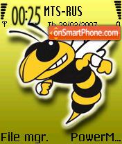 Wasp from Debtor es el tema de pantalla