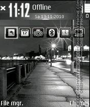 Night 08 theme screenshot