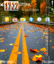 Autumn 2015 theme screenshot