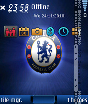Chelsea 2015 theme screenshot