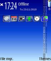 Blucielon theme screenshot