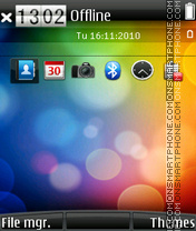 Htc touch theme screenshot