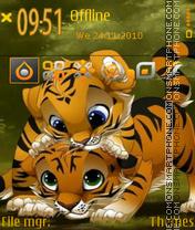 Friends Buddy theme screenshot