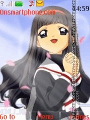 Tomoyo tema screenshot