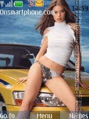 Girl&Car tema screenshot