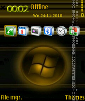 Windows 7 23 theme screenshot