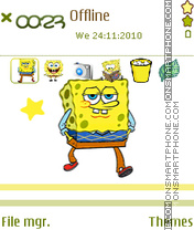 Sponge Bob 08 Theme-Screenshot