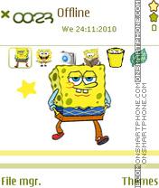 Sponge Bob 08 theme screenshot
