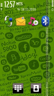 Nokia 5800 04 tema screenshot