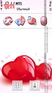 Red Hearts 04 es el tema de pantalla