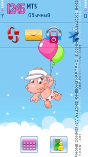 Happyhippo tema screenshot