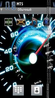 Speed 289 Theme-Screenshot
