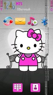 Hello Kitty 39 theme screenshot