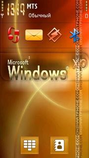 Windows XP 24 theme screenshot