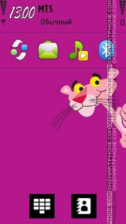 Скриншот темы Pink Panther 09