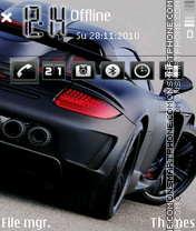 Porsche Carrera Gt by Afonya777 theme screenshot