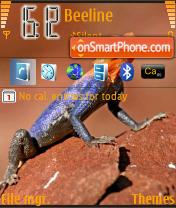 Dino theme screenshot