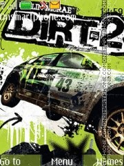 DIRT 2 theme screenshot