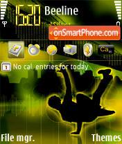 Capture d'écran Break Dance thème