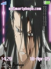 Byakuya Bleach tema screenshot