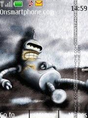 Скриншот темы Bender