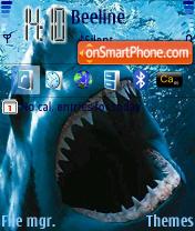 Sharks theme screenshot