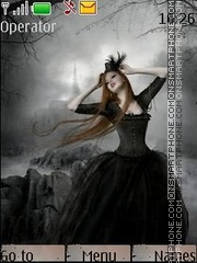 Gothic style51 theme screenshot