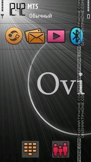 Скриншот темы Ovi 5th 01