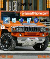Mio Hummer theme screenshot
