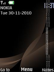 Bronze 190 theme screenshot