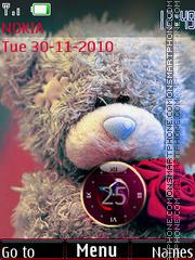 Скриншот темы Cute bear